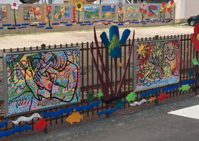 HBC Fence Mural