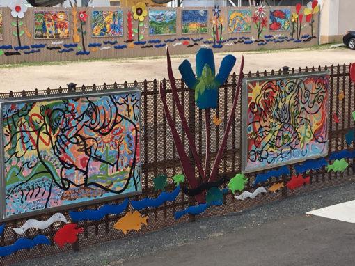 HBC Fence Mural