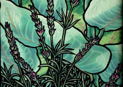 Lavender and Milkweed